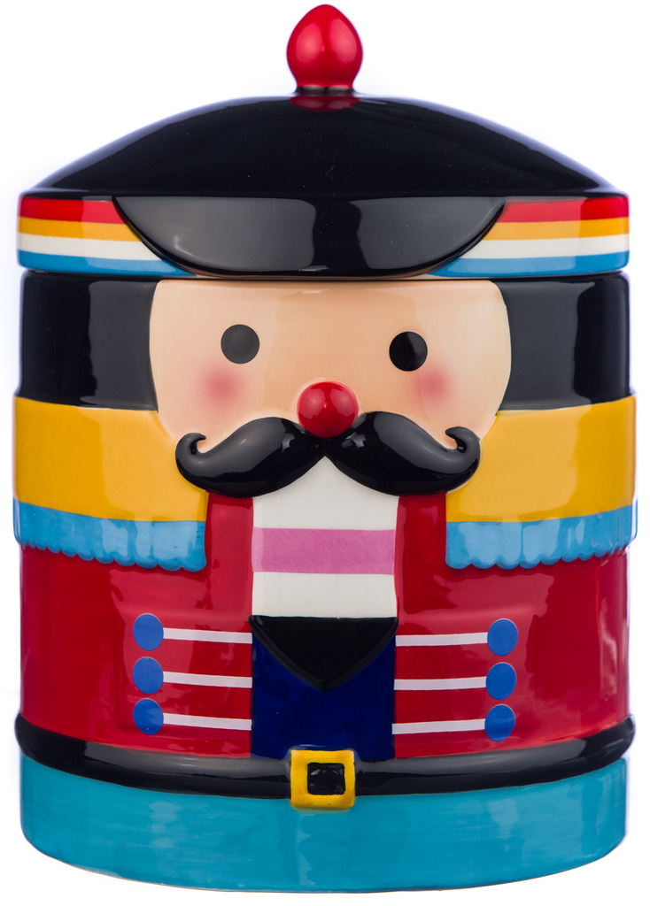 Nutcracker Cookie Jar