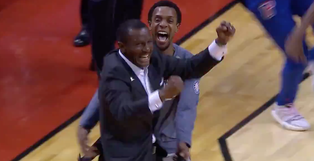 Former Raptors coach Casey returns to hero's welcome, leaves with sweet revenge