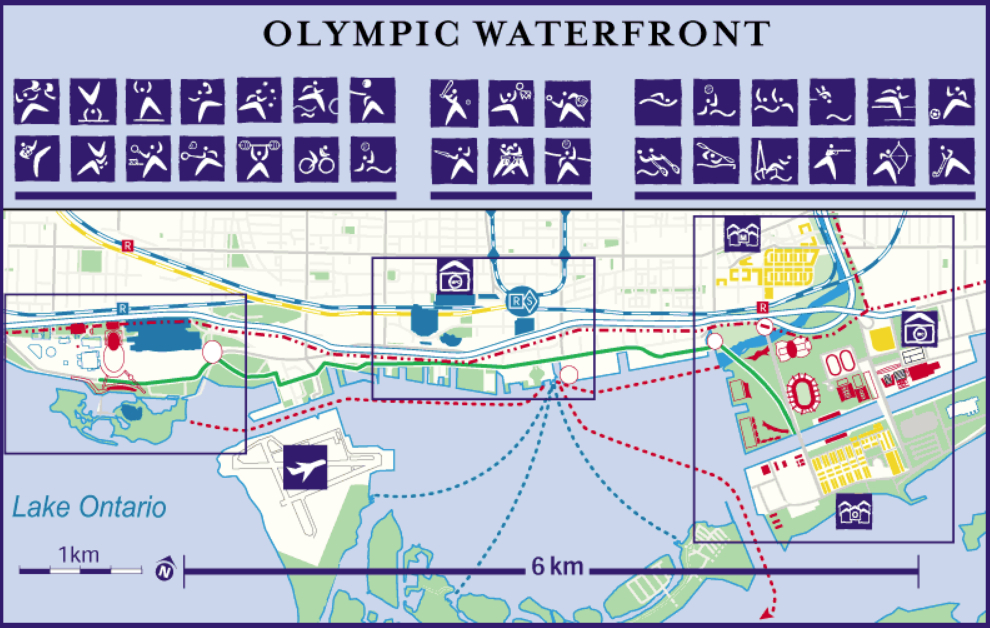 Toronto Olympic Waterfront Plan
