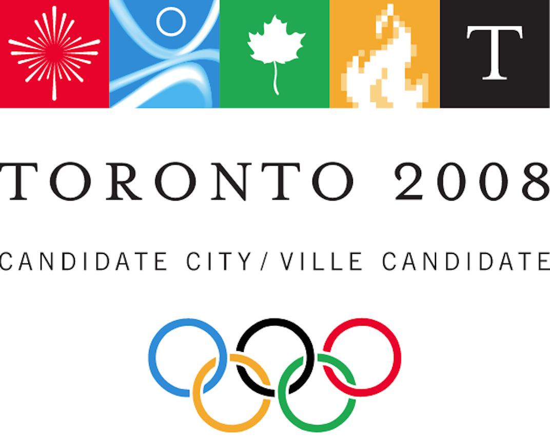 Toronto 2008 Olympic bid logo