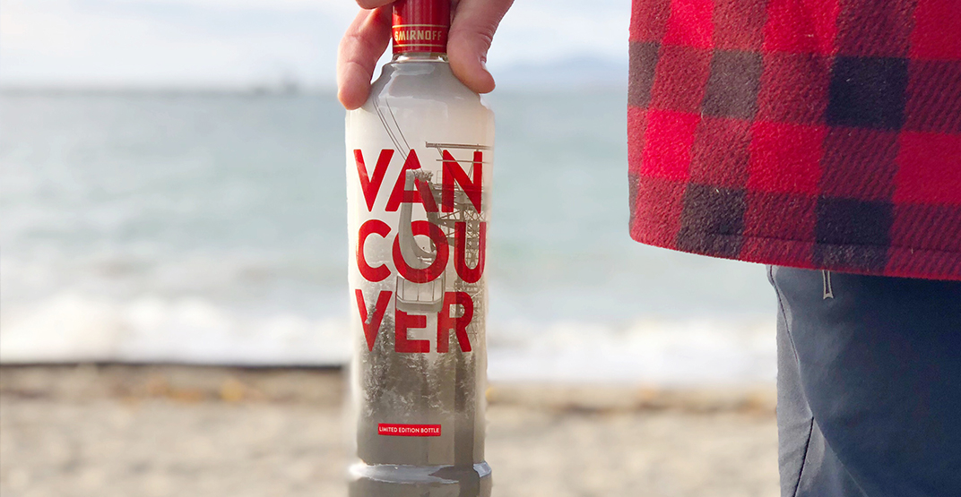 Smirnoff is releasing Vancouver-themed bottles to celebrate the city