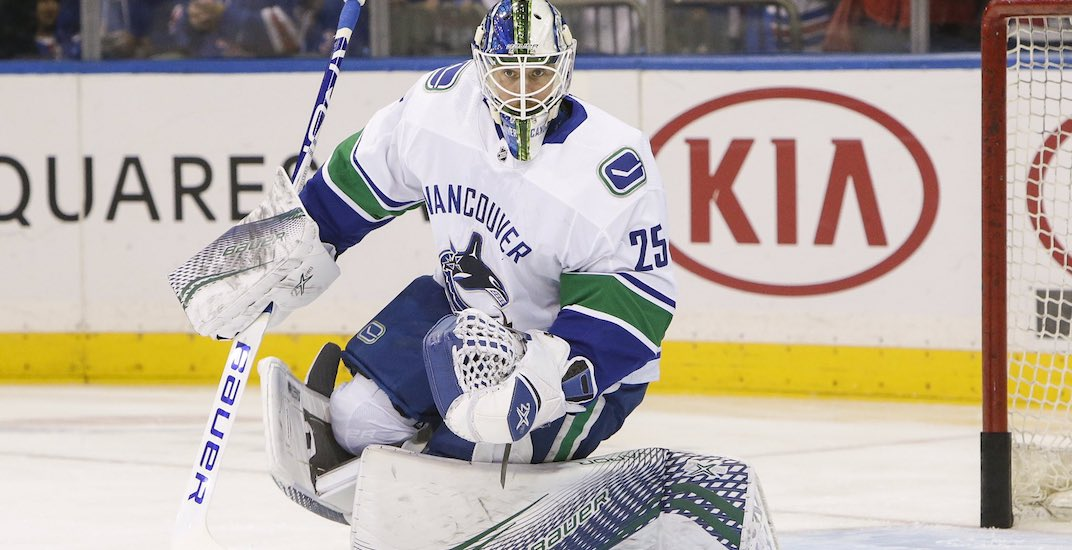 Markstrom healthy and able to play in goal for Canucks tonight