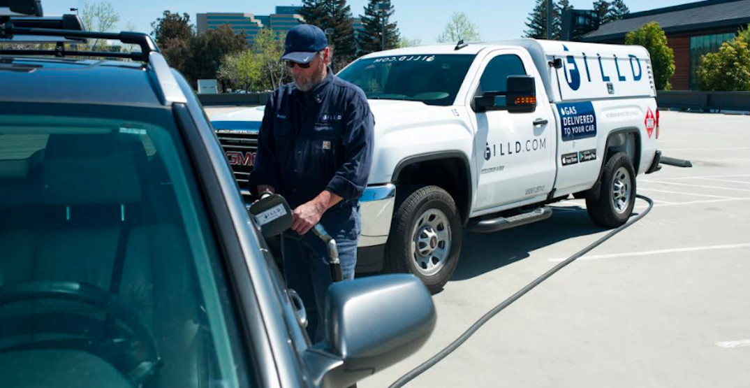 There's now a mobile fuelling service in Vancouver