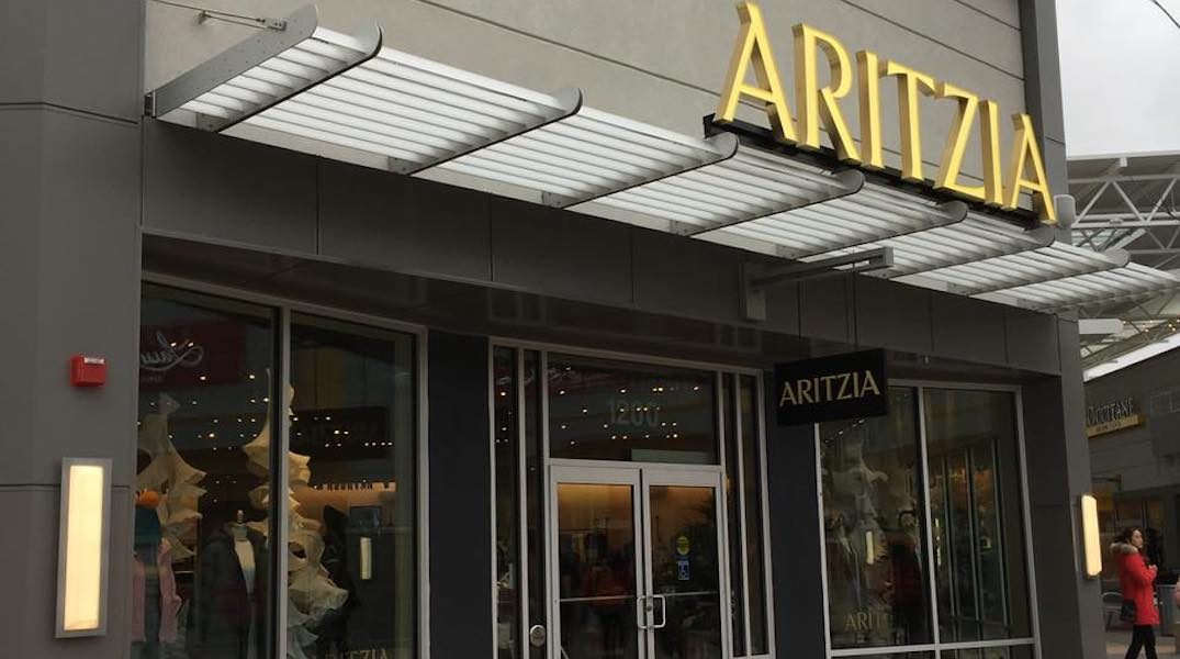 Aritzia opens its first North American outlet in the GTA
