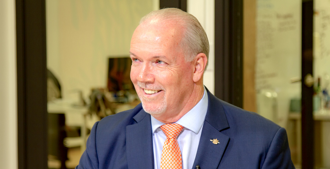 John Horgan still confident in electoral referendum process despite slow start