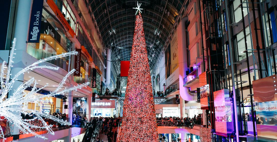Every major Toronto mall open late on Black Friday