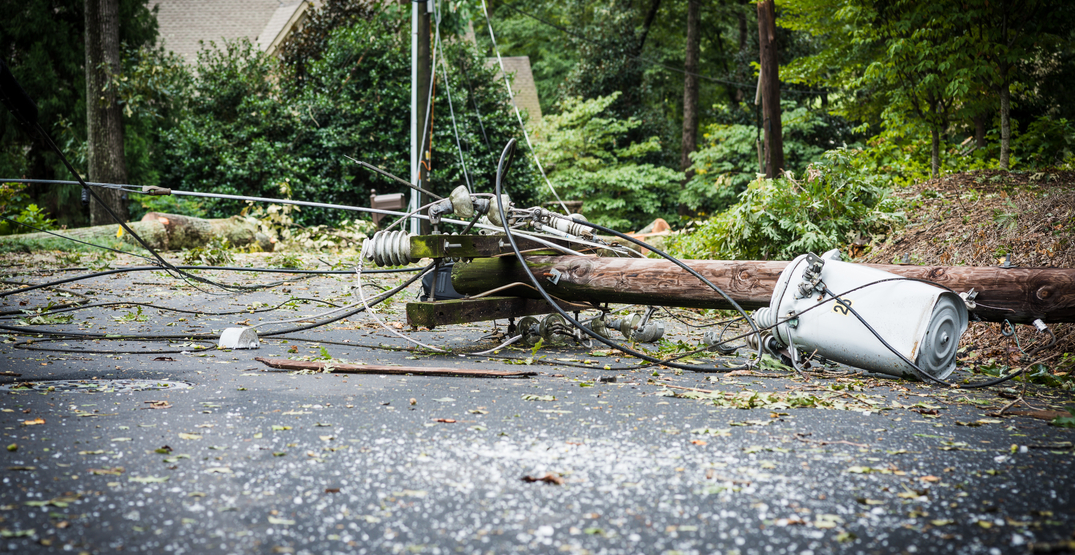 Increasingly severe storms responsible for more power outages in BC