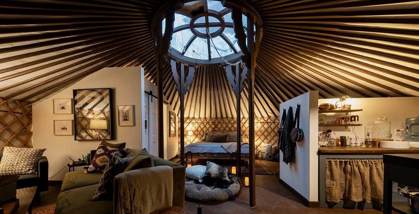 1bccd7ebd80e You can stay in this Pinterest-worthy yurt made from Canada s ...