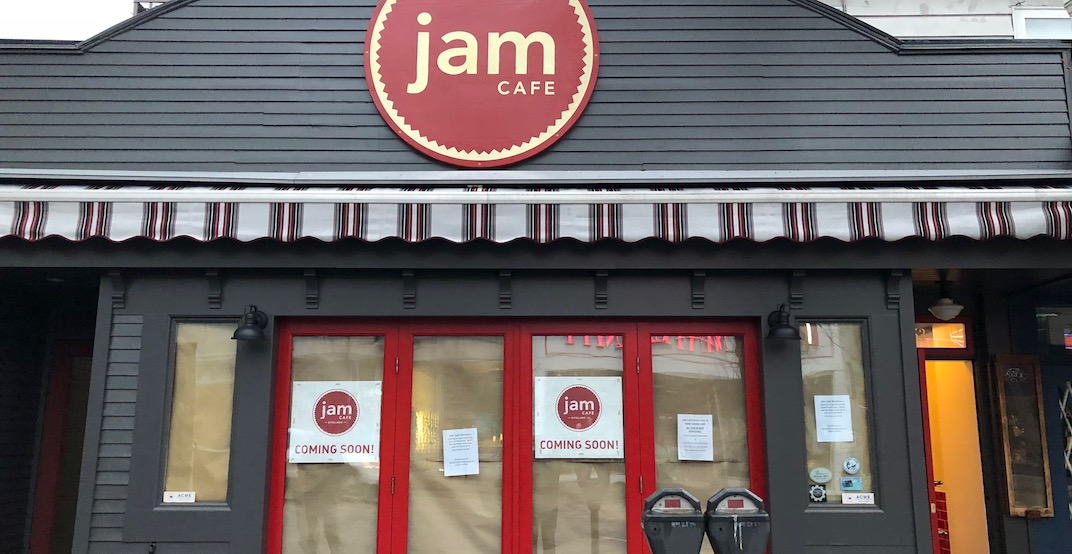 Jam Cafe reveals opening date for new Vancouver location (PHOTOS)