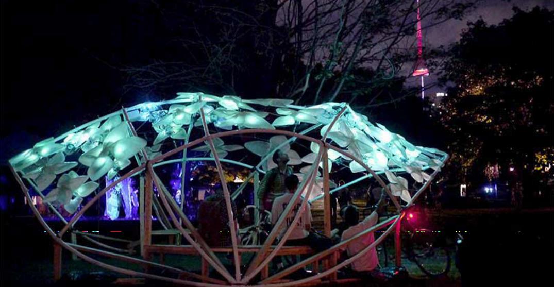 Stunning winter light exhibition returns to Ontario Place November 23