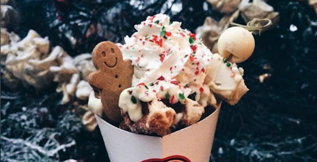 Some of the mouthwateringly festive foods at the Toronto Christmas Market (PHOTOS)