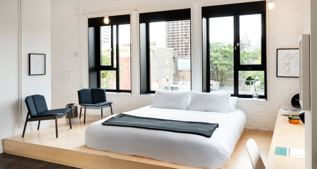 You can stay at this new boutique hotel in Toronto for $1 a night