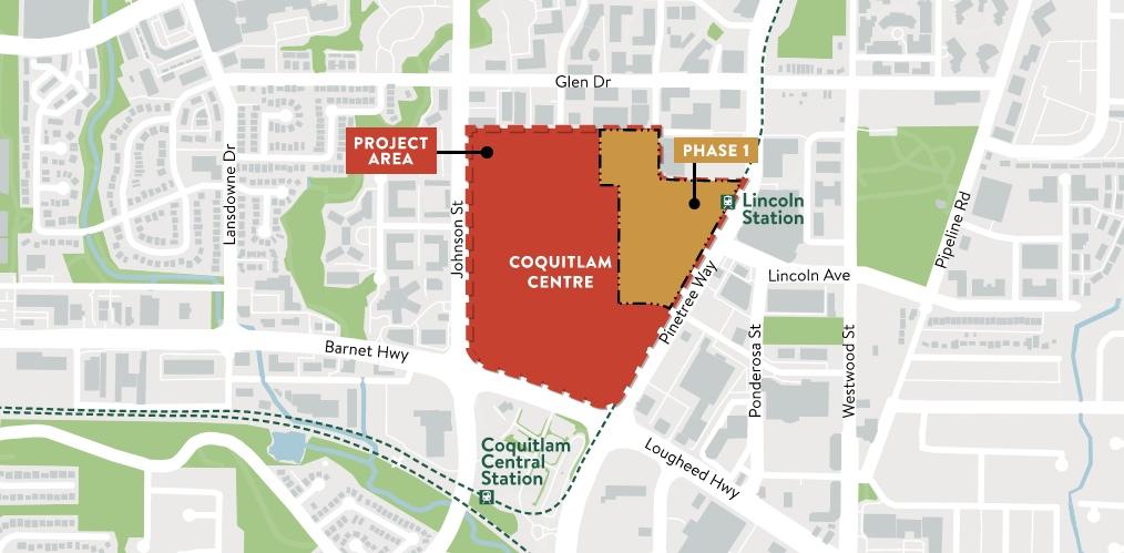 Coquitlam Centre redevelopment