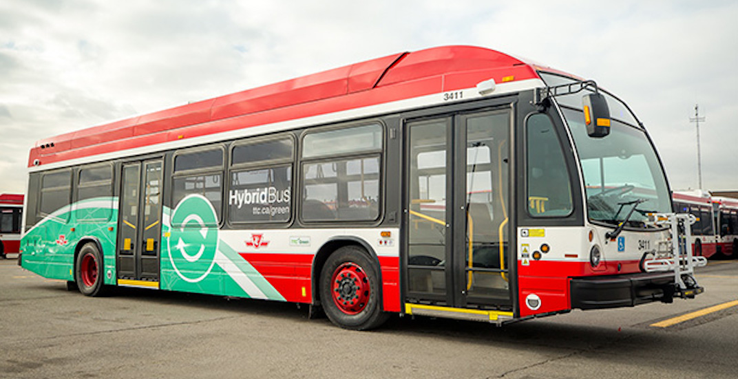 TTC rolling out first of 255 new hybrid electric buses