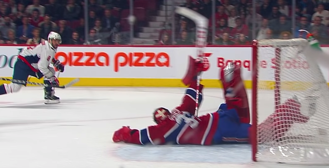 Even Ovechkin had to applaud Price's incredible last second save (VIDEO)
