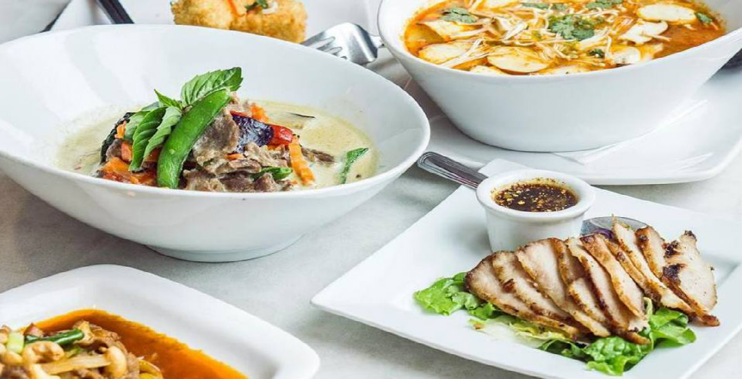Indulge in a full-course Thai dinner for only $15.95 at Pink Elephant Thai