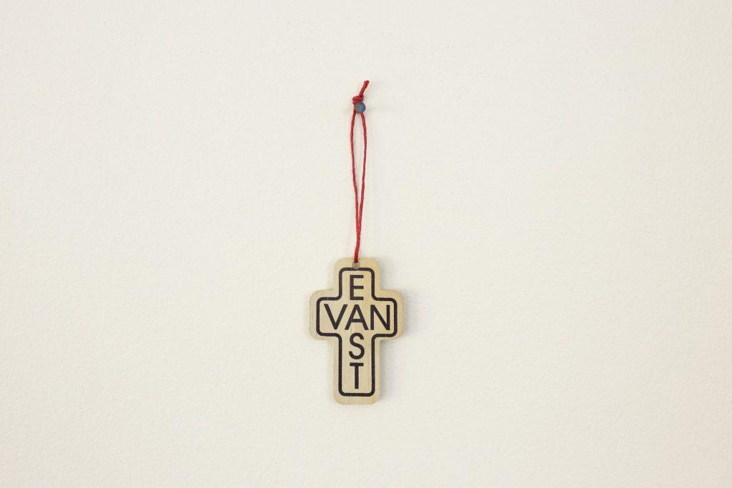 East Van Cross ornament/Reclaimed Print