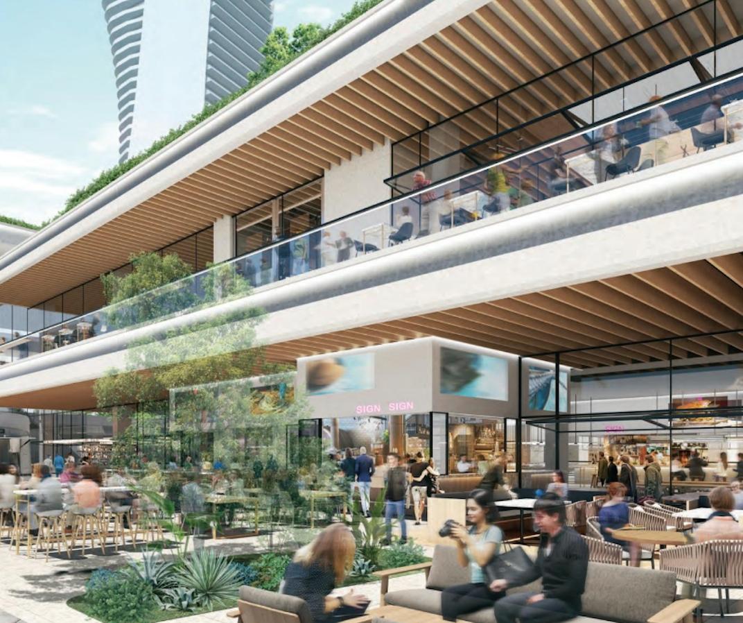 Massive Food Hall And Pub Coming To Oakridge Centre