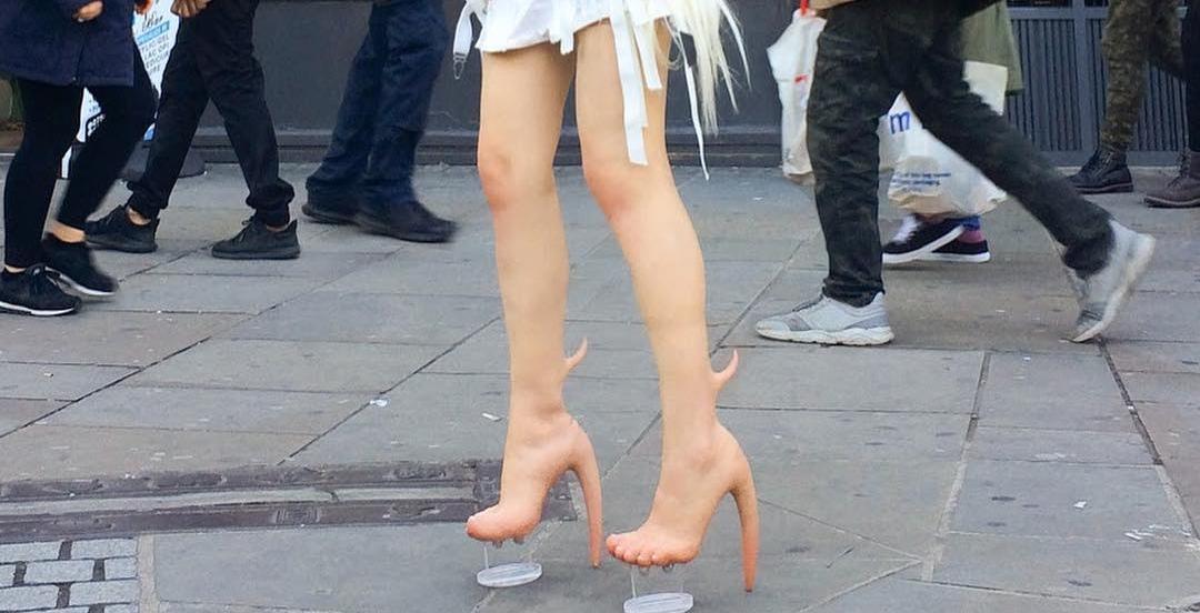 This Montreal designer's $10K 'skin heels' might shock you