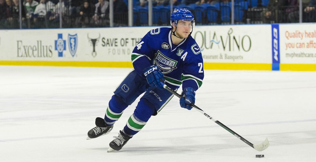 Desperate Canucks call up Utica Comets' leading scorer
