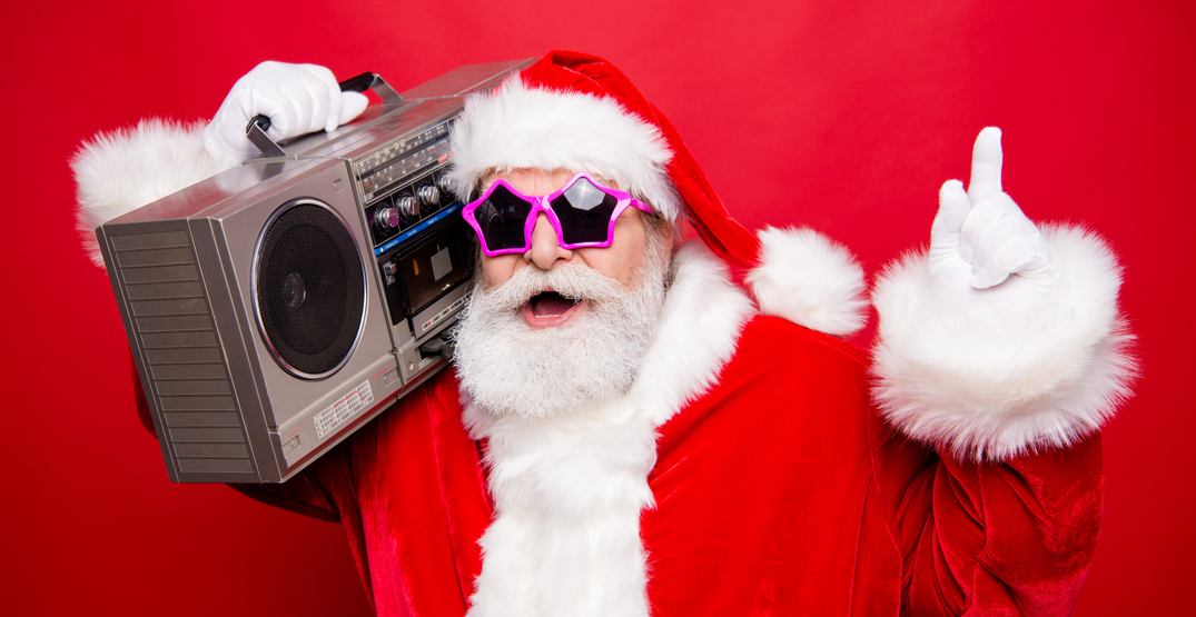 A Vancouver radio station has switched to all-Christmas tunes