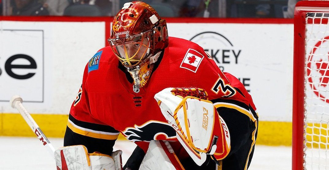 Rittich is leaving no doubt as the Flames' best bet in goal