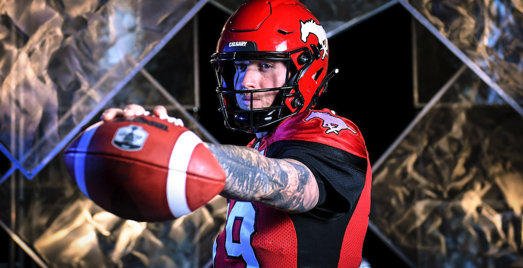 Stampeders' Bo Levi Mitchell wins CFL's Most Outstanding Player Award