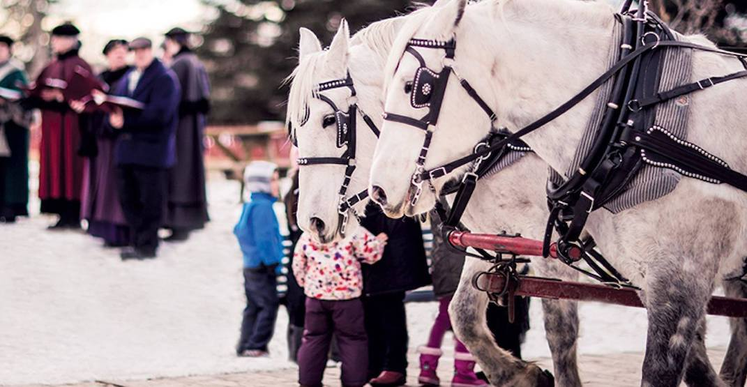 Get in the spirit of the season at Heritage Park's Once Upon a Christmas