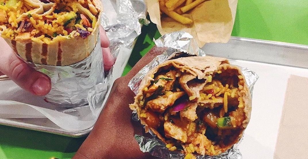 Get cheap Indian-style burritos at this spot in Metro Vancouver next week