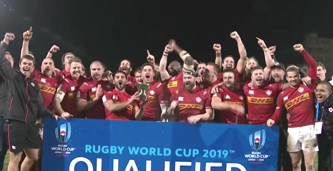 Canada claims final spot in the 2019 Rugby World Cup