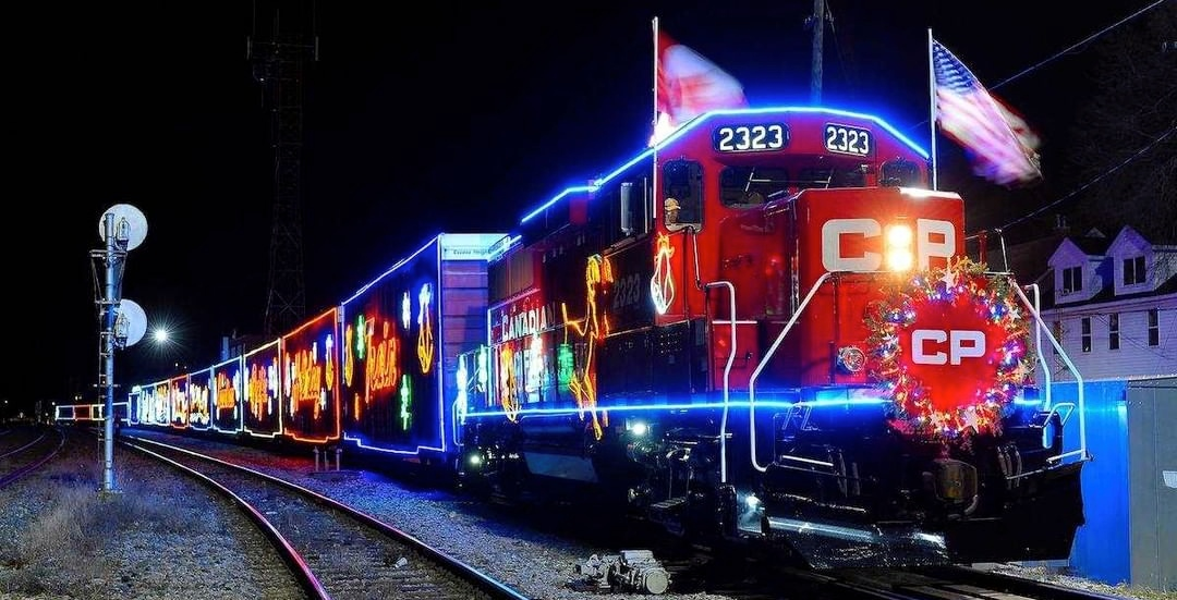 The Canadian Pacific Holiday Train chugged through Montreal this weekend (PHOTOS)