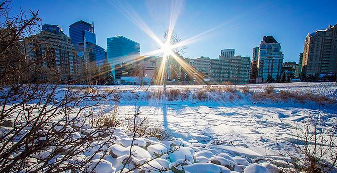 Sunny skies, above freezing temperatures could bless Calgary this week