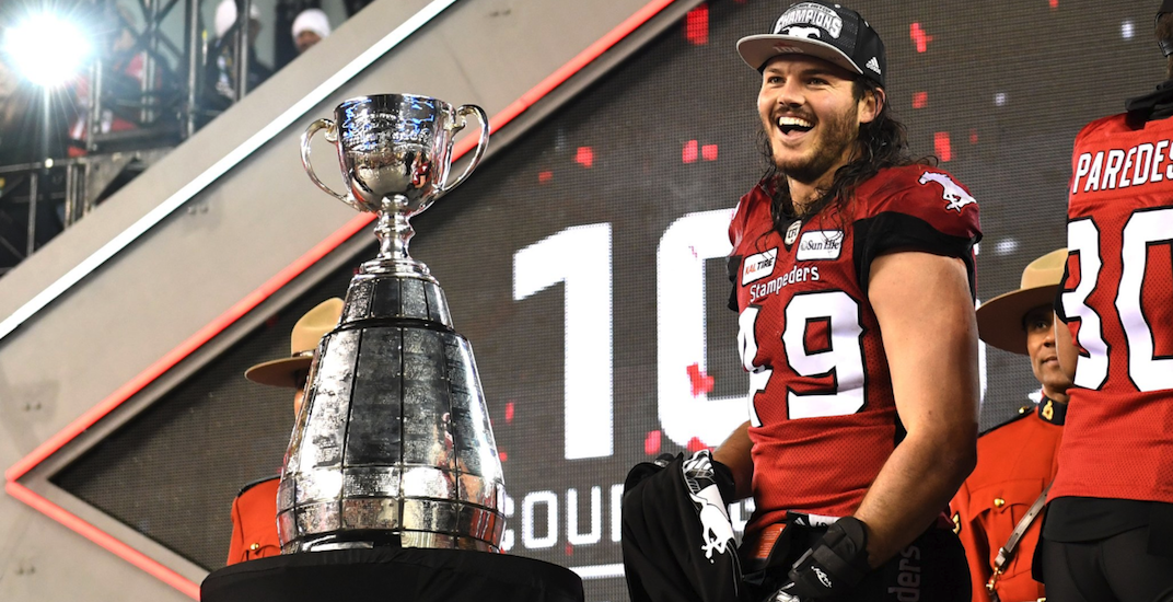 There's a huge Stampeders rally this Tuesday to celebrate Grey Cup win