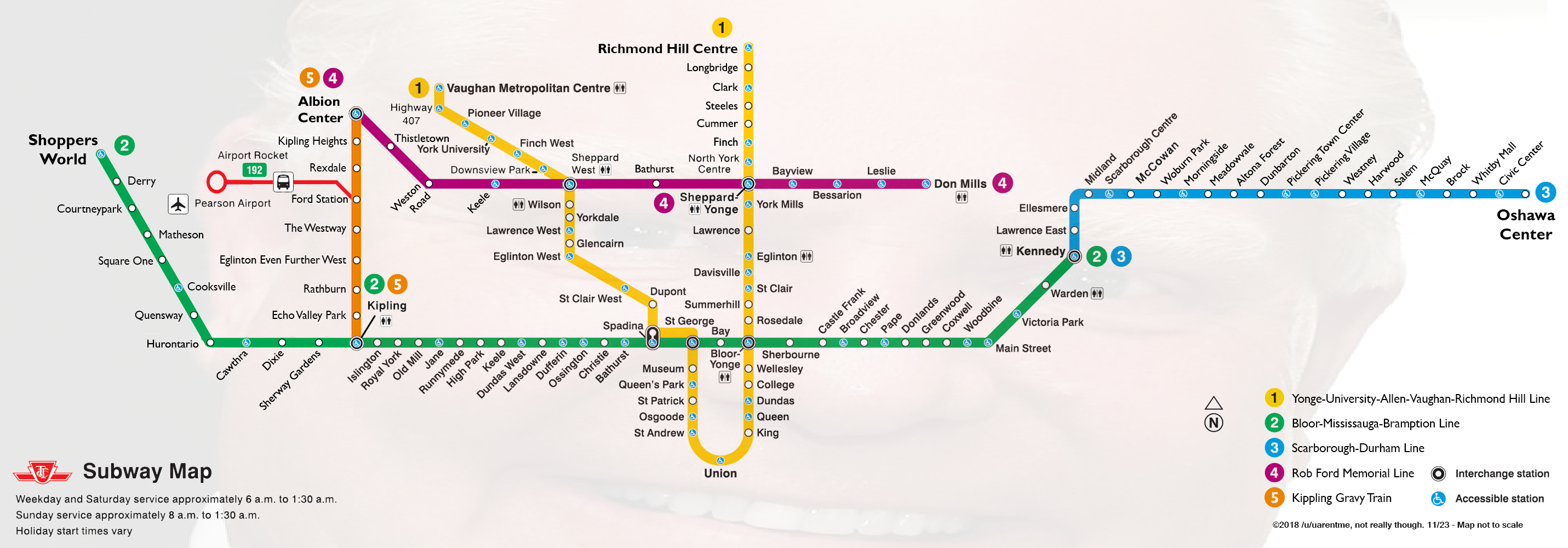 4 Train Subway Map.Someone Has Created A Doug Ford Parody Relief Line Map Urbanized
