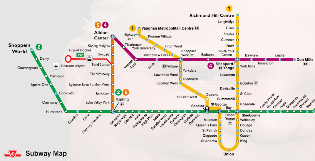 Ttc Subway Map 2018.Someone Has Created A Doug Ford Parody Relief Line Map Urbanized