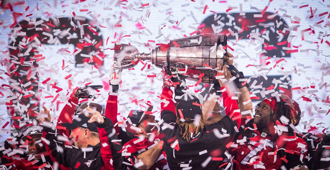 Here's how Calgary reacted to the Stampeders' Grey Cup win