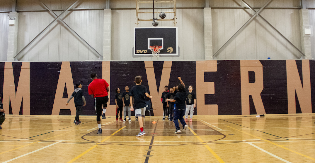 Raptors and OVO give Toronto community basketball courts a welcome upgrade (PHOTOS)