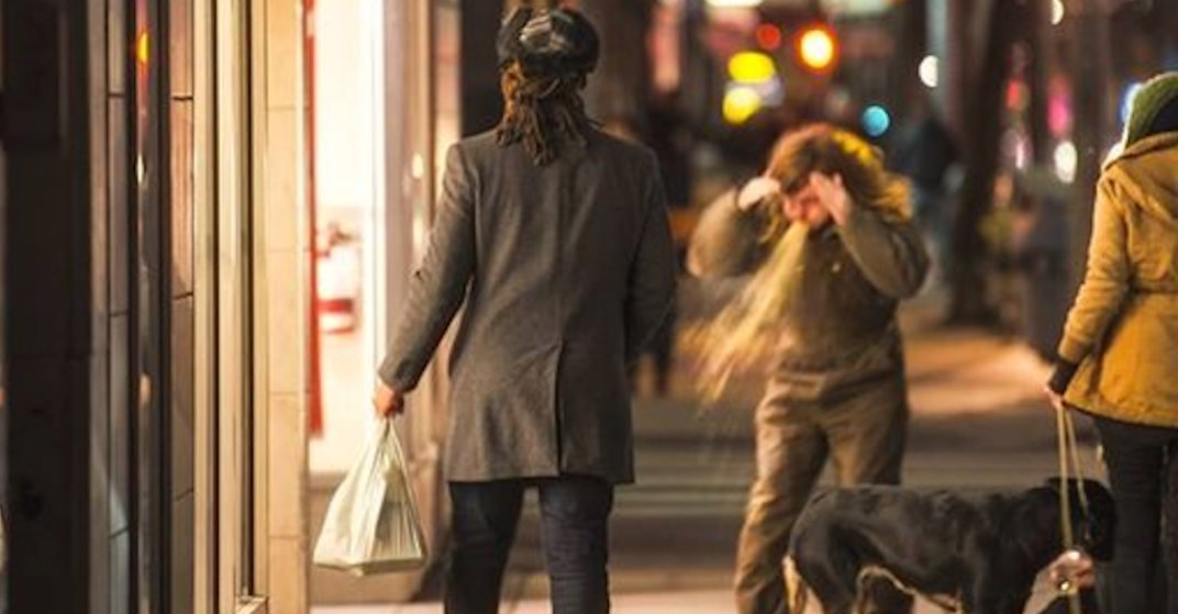 Toronto photographer captures man puking on Queen Street in viral pic