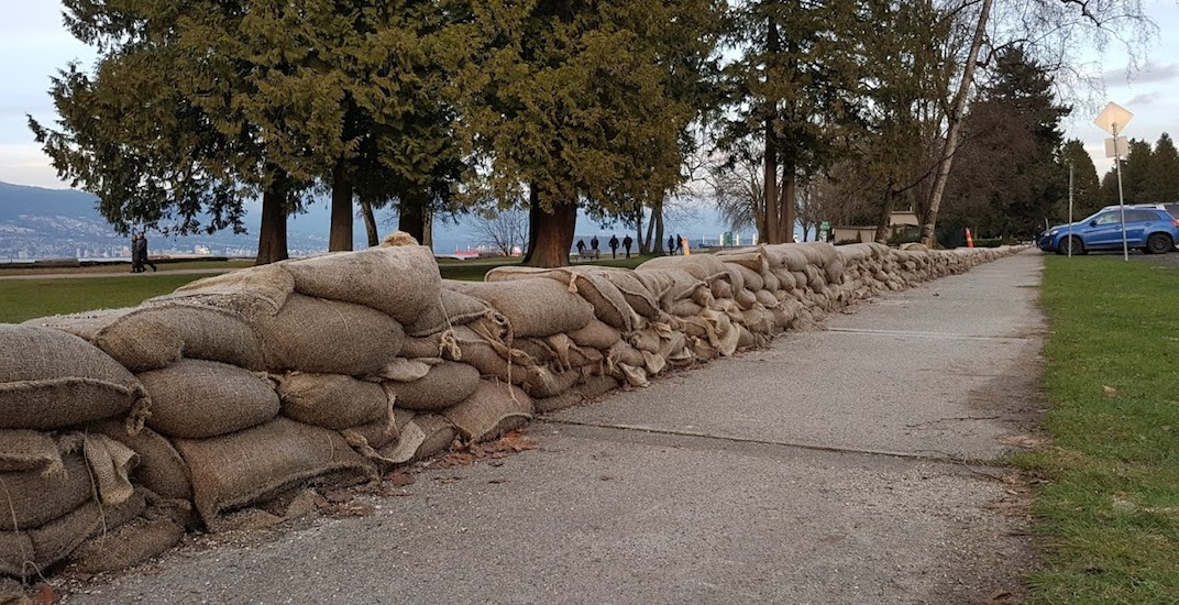 Vancouver wants your photos of the king tides to predict the city's shoreline