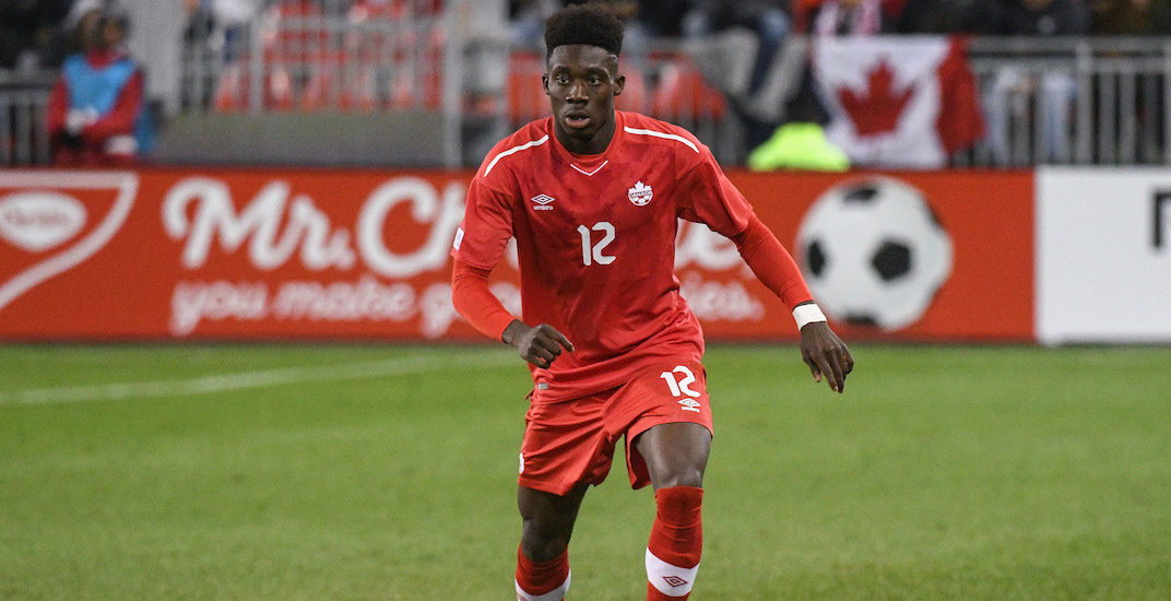 Alphonso Davies to miss Canada Soccer's weekend match at BC Place