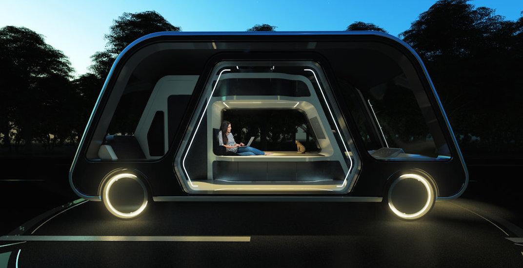 Autonomous travel suite 1
