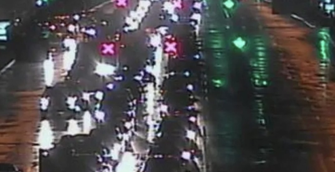 UPDATE: Two lanes reopened after accident shuts down Stanley Park Causeway