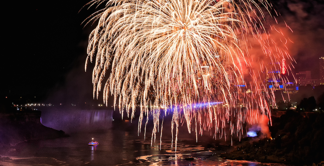 This epic fireworks series is returning to Niagara Falls in 2019