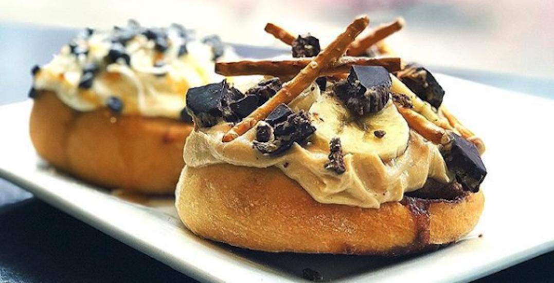 You can get $1 vegan cinnamon rolls in Toronto on November 30