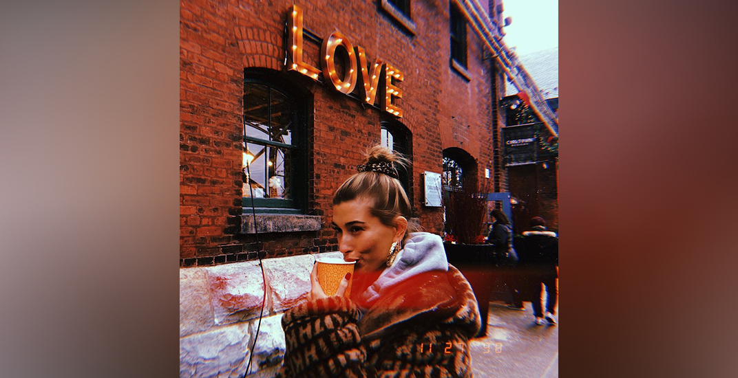 Hailey Bieber is celebrating Valentine's Day in the most Canadian way ever (PHOTO)