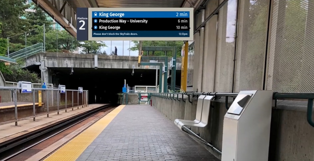 New real-time next train signs, speakers, and CCTV coming to 33 SkyTrain stations