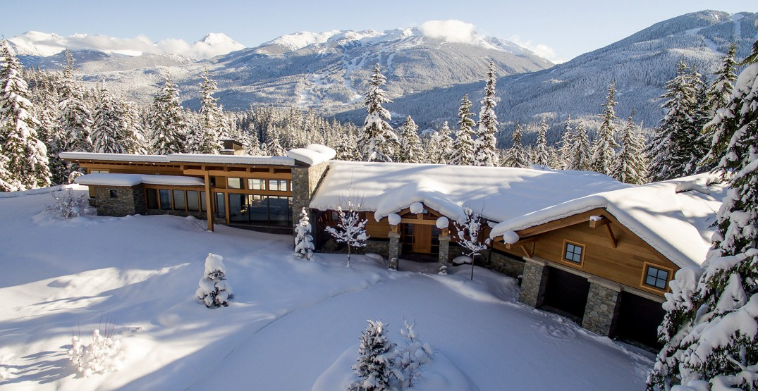 A Look Inside: This stunning Whistler mansion could be yours for a cool $15 million (PHOTOS)