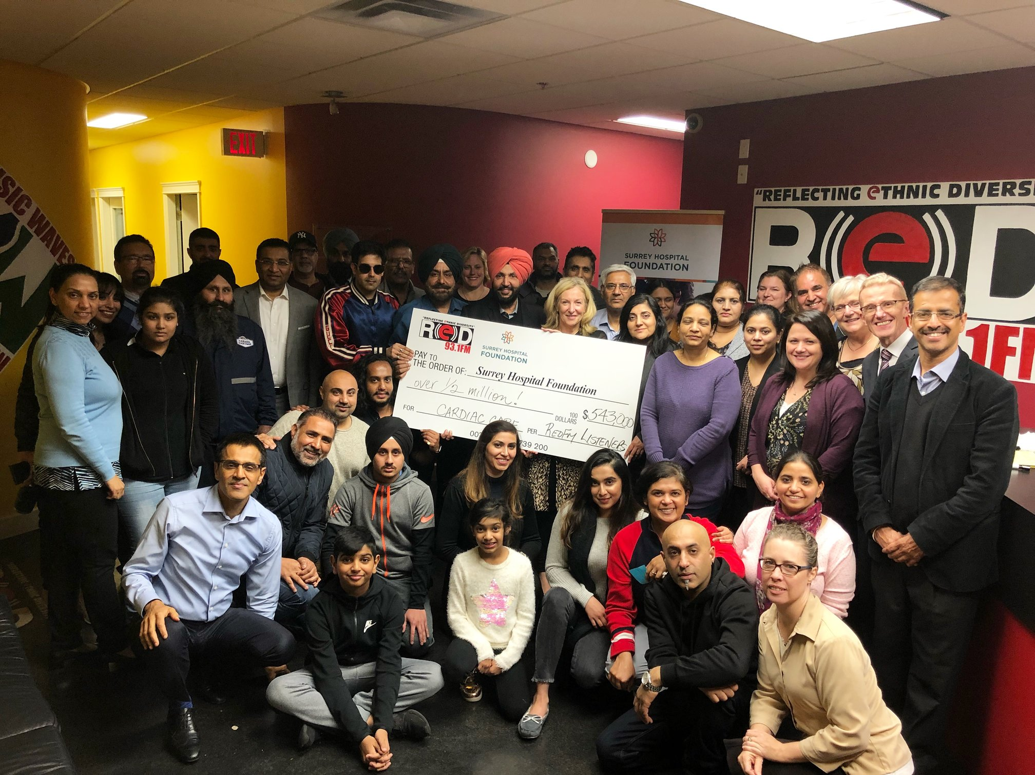 More prone to heart disease, South Asian community raises $543k for cardiac care
