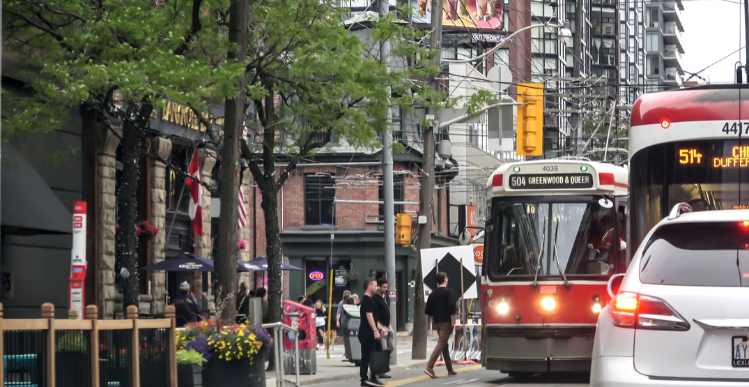King Street pilot officially extended until the end of July