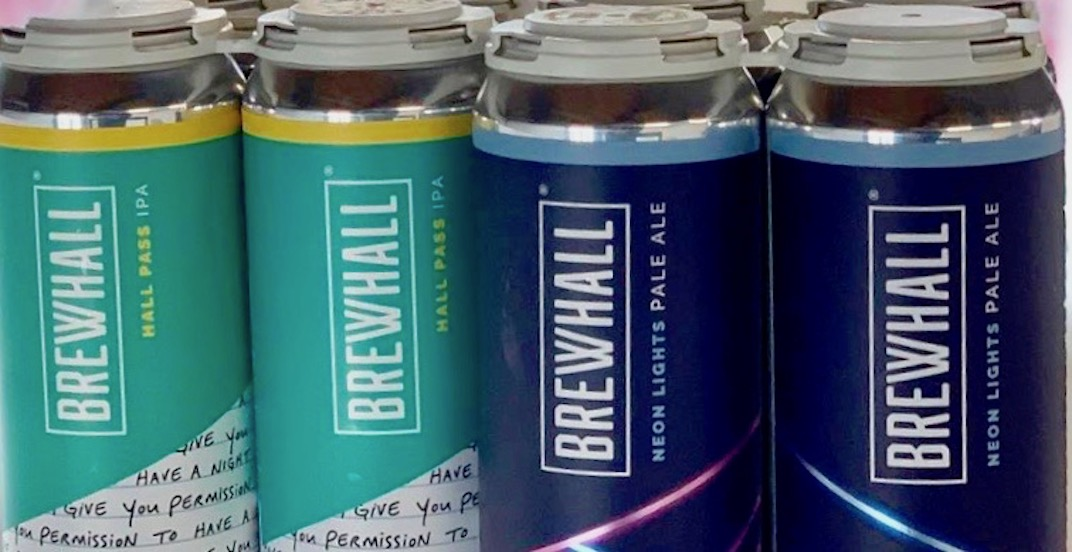 Vancouver's first brewery and beerhall's cans hit retail shelves today
